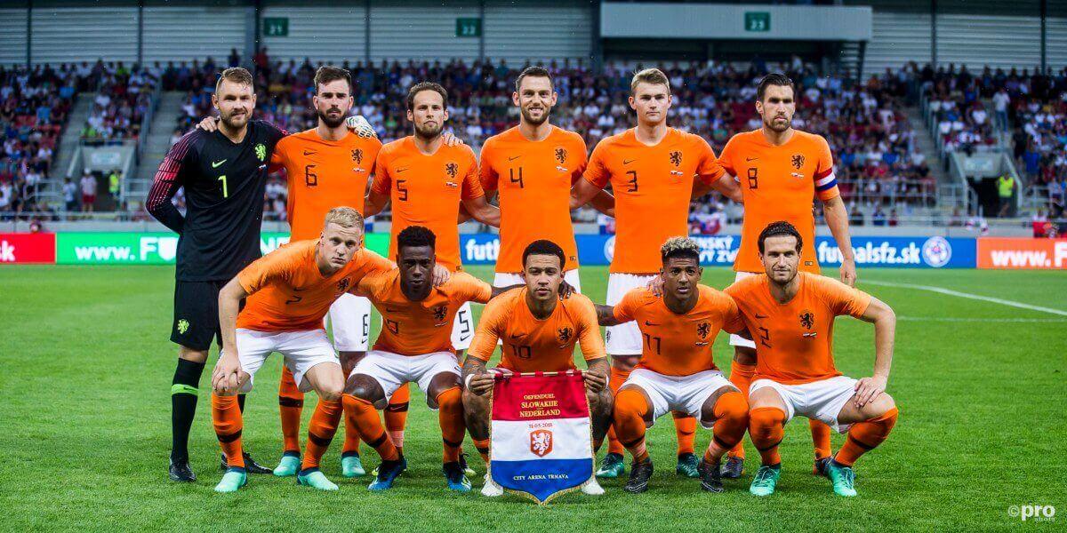 De vermoedelijke opstelling van Italië - Nederland