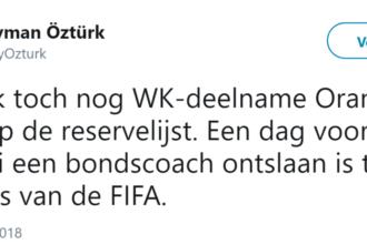 'Oranje mogelijk toch naar WK?'