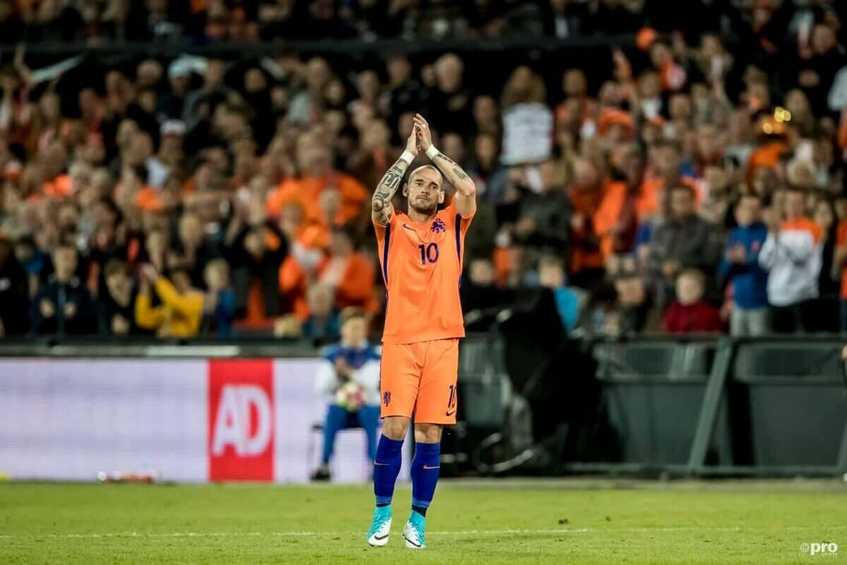 'Sneijder start tegen Peru'