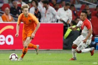 Frenkie de Jong: 'We hebben grote stappen gezet'