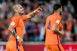 'Ik zou Sneijder zeker voor Oranje behouden'