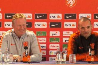'Sneijder draagt aanvoerdersband tegen Peru'