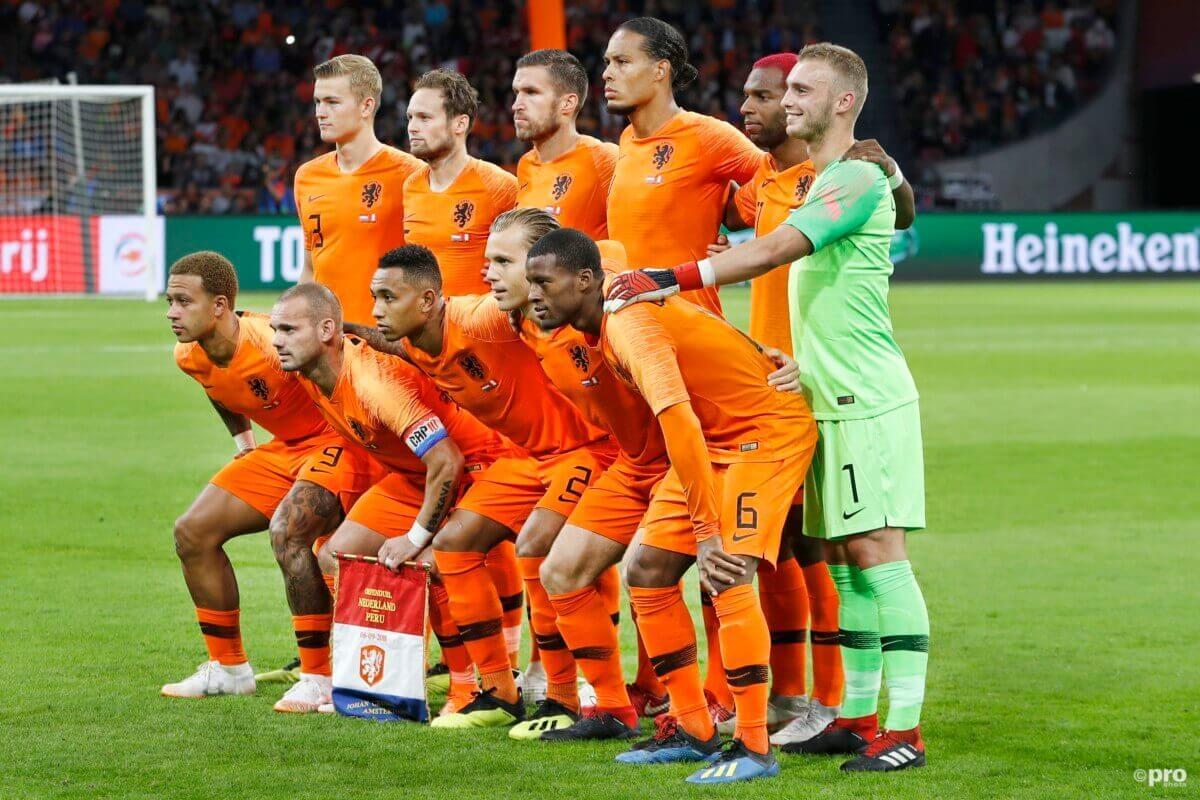 Vermoedelijke opstelling voor Frankrijk - Nederland