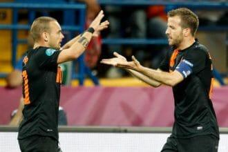 'Voetballen met Sneijder was magie'