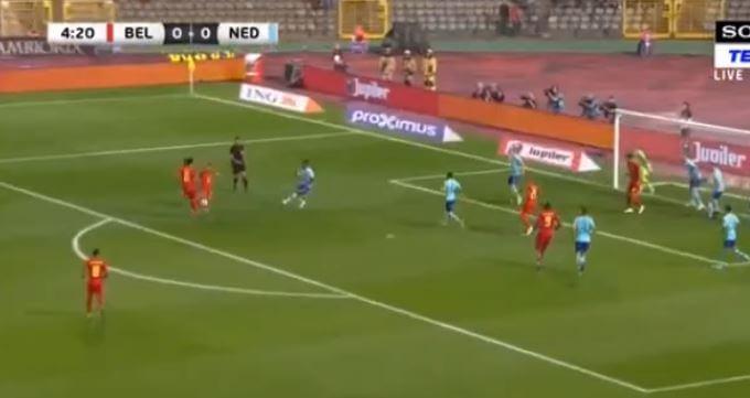 Mertens zet België al snel op voorsprong