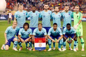 De opstelling van Nederland tegen België