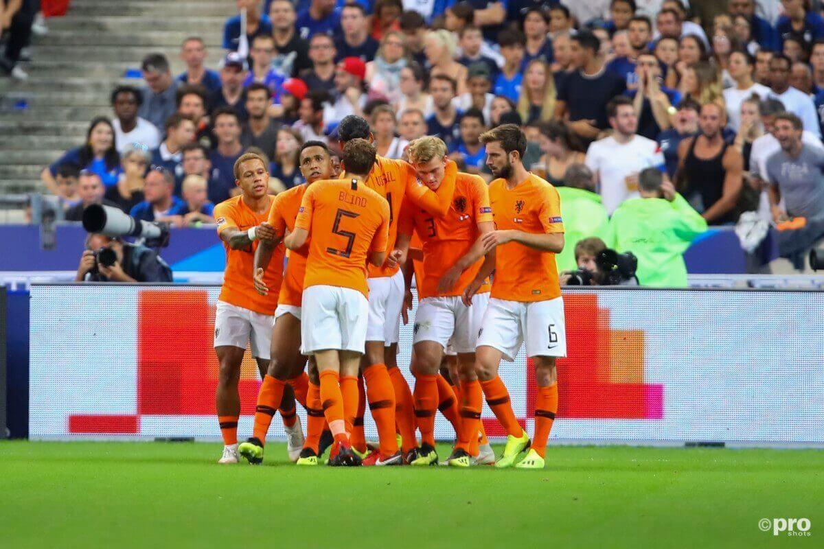 Vermoedelijke opstelling voor Nederland - Duitsland