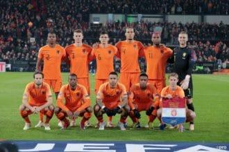 De vermoedelijke opstelling voor Duitsland – Nederland