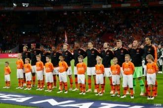De opstelling voor Nederland – Polen