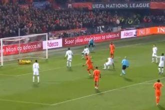 VIDEO: Wijnaldum schiet Oranje op 1-0!