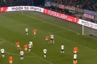 Promes schiet Oranje terug in de wedstrijd