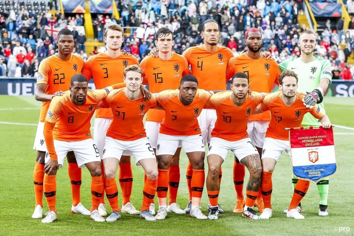 Opstelling duitsland - nederland