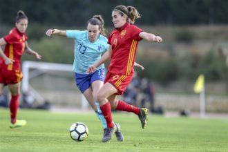 OranjeLeeuwinnen opnieuw onderuit tegen Spanje