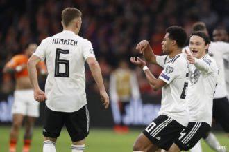 Duitsland - Nederland goal Gnabry
