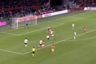 Nederland - Duitsland Memphis Depay goal