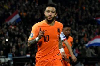 """Memphis gelukkig bij Oranje: """"Elke minuut bij Oranje is genieten geweest"""""""