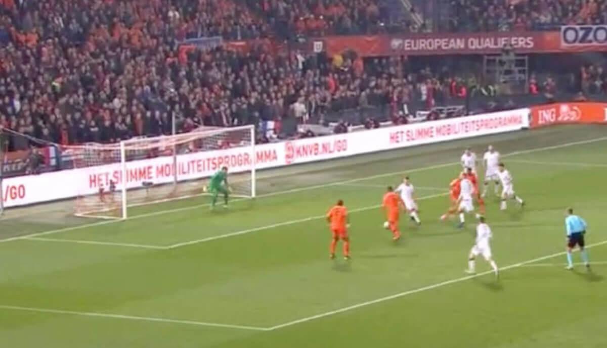 Wijnaldum 2-0 tegen Wit-Rusland