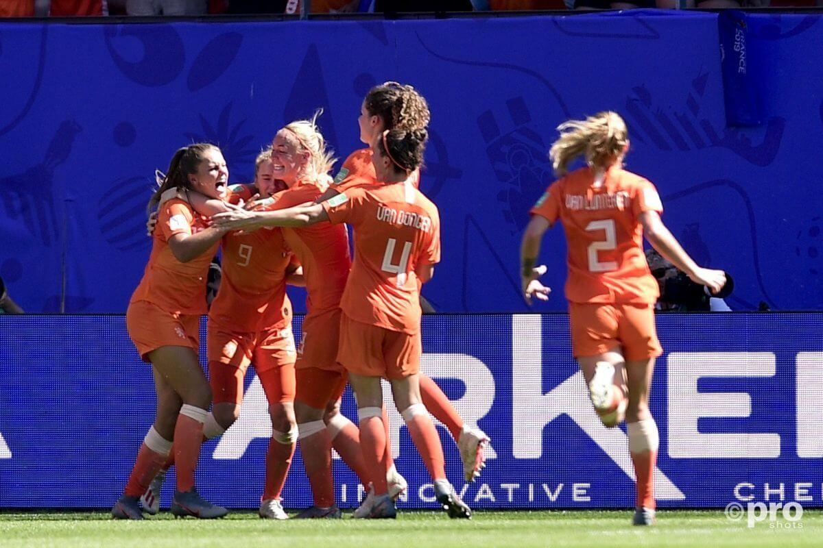 Halve finale WK 2019: Nederland - Zweden