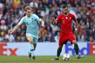 Live: Oranje gaat nipt onderuit tegen Portugal