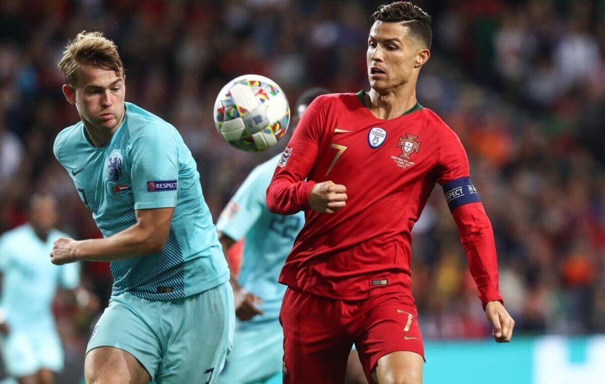 Rapportcijfers Nederland - Portugal