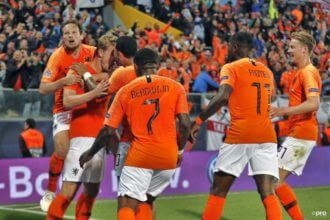 Nederland - Engeland Nations League
