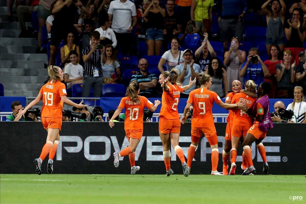 WK-finale Oranje Leeuwinnen - Verenigde Staten