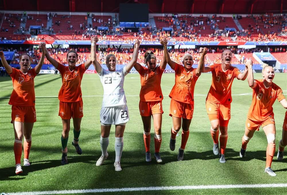 WK 2019 - OranjeLeeuwinnen winnen