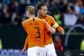 Virgil van Dijk is vol trots bij Oranje