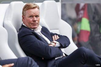Koeman vol trots na winst op Duitsland