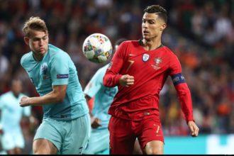Ronaldo koos voor De Ligt als wereldvoetballer van het jaar