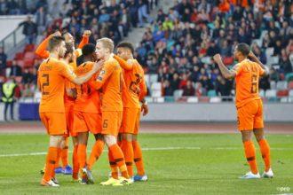 De rapportcijfers voor Oranje na de krappe zege op Wit-Rusland