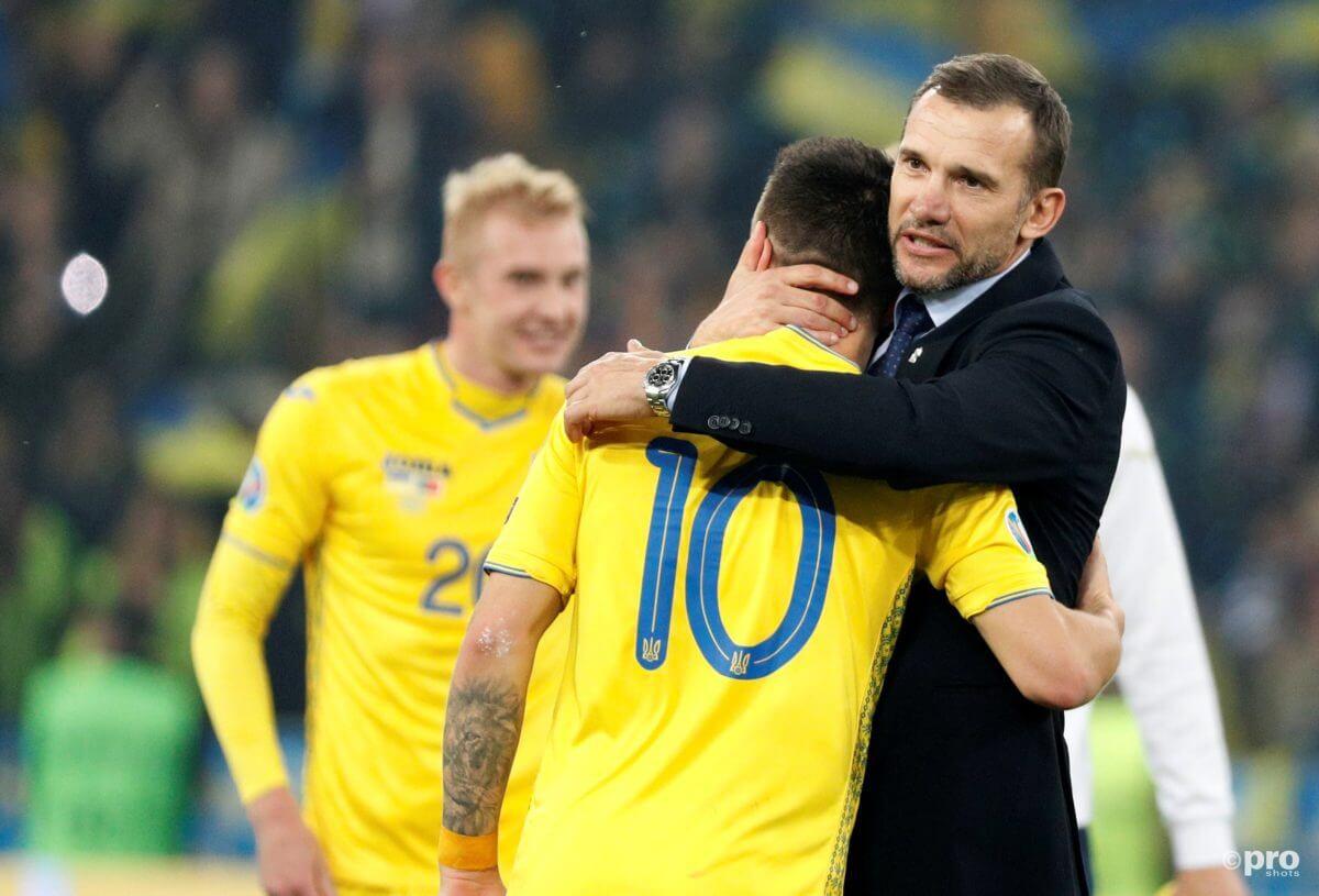 Oekraïne is een tegenstander van Oranje op het EK 2020