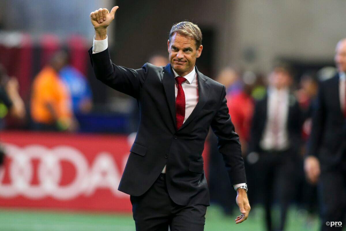Frank de Boer is de nieuwe bondscoach