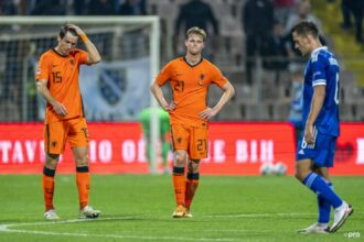 Nederland kan ook Bosnië niet verslaan