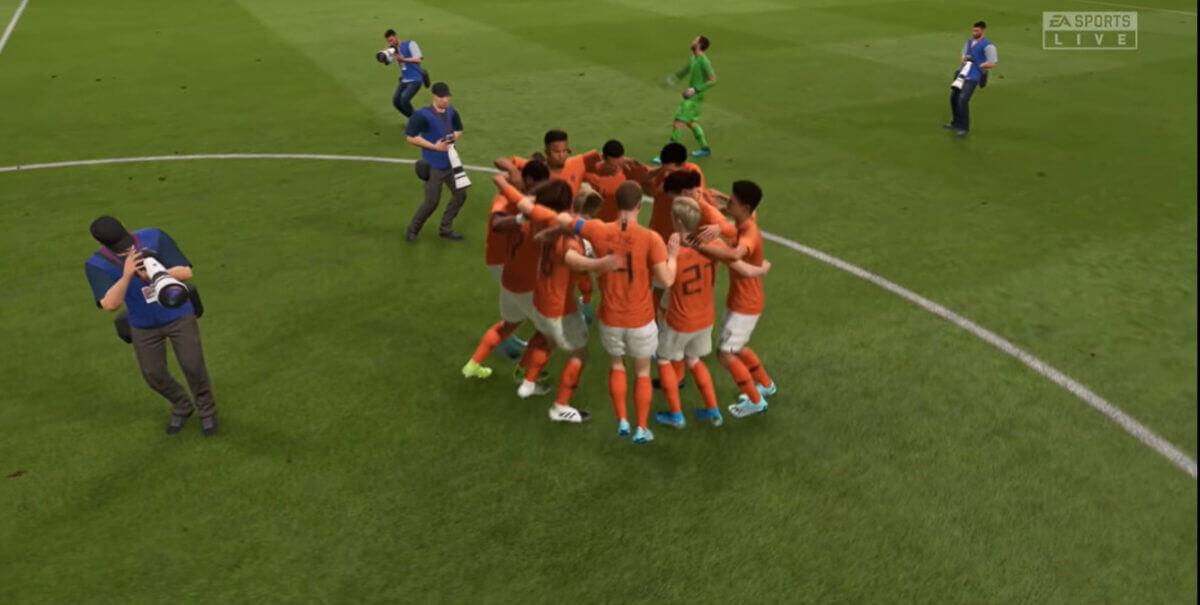 Oranjespelers scoren niet heel hoog in FIFA 21