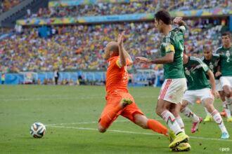 Wedstrijd van toen: Nederland – Mexico op WK 2014