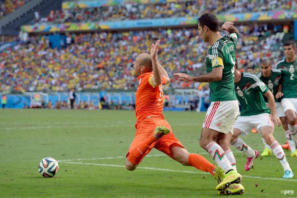 Wedstrijd van toen: Nederland - Mexico op WK 2014