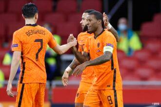 Wijnaldum zet Oranje al vroeg op een 2-0 voorsprong