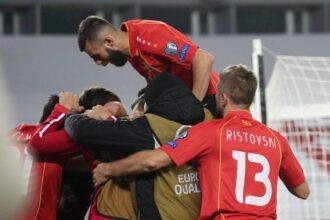Noord-Macedonië derde EK-tegenstander van Oranje