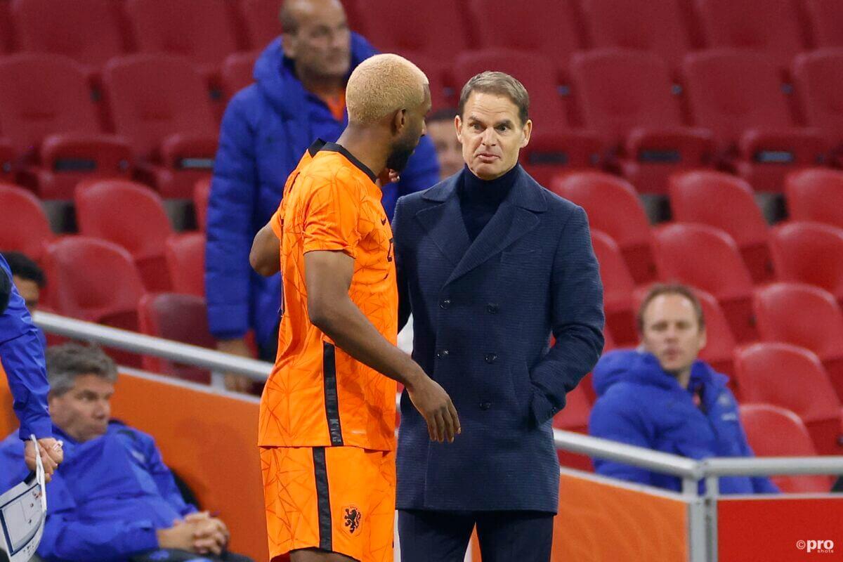 Frank de Boer met Ryan Babel