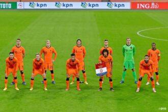 De vermoedelijke opstelling voor Nederland – Bosnië en Herzegovina