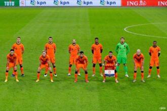 De opstelling voor Polen – Nederland