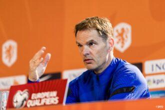De Boer: 'We proberen zo snel en direct mogelijk te spelen'