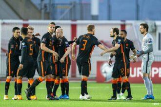 Oranje wint uiteindelijk ruim van Gibraltar