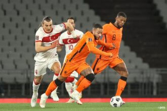 Oranje start kwalificatie met verliespartij tegen Turkije