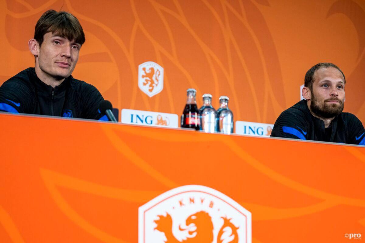 De Roon en Blind tijdens de persconferentie