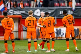 De middenvelders van Oranje op het EK