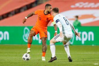 Nederland speelt eerste uitzwaaiwedstrijd gelijk tegen Schotland