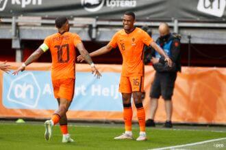 Ook Gravenberch maakt eerste goal in Oranje