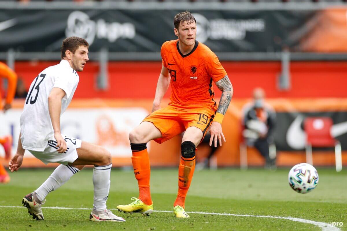 Weghorst met de eerste goal voor Oranje